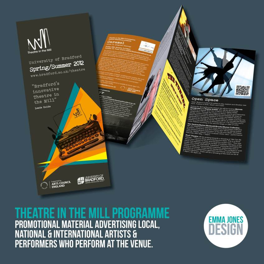 Theatre in the Mill Programme