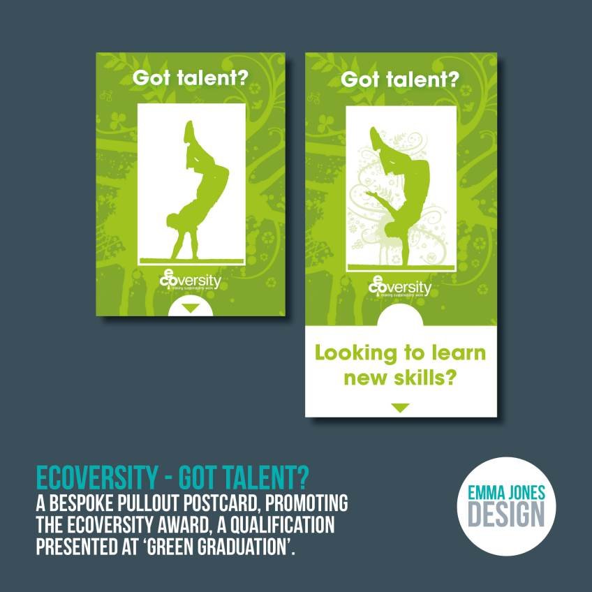 Ecoversity - Got Talent?